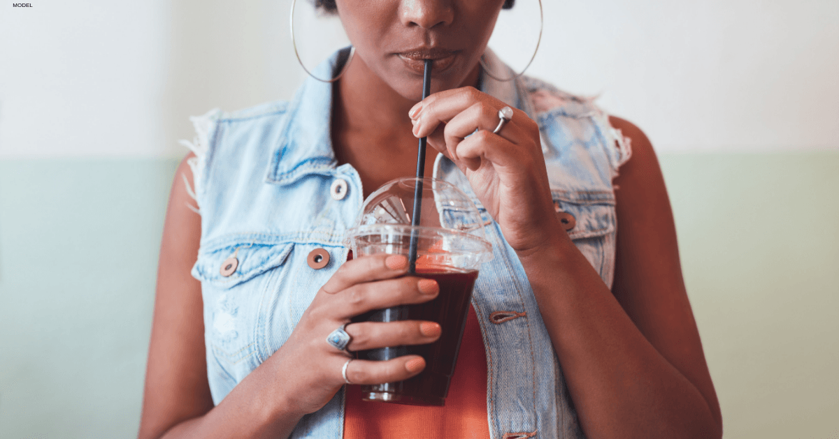 Prevent mouth wrinkles caused from years of drinking through a straw with TEOSYAL